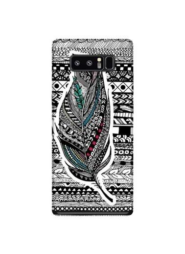 People's Cover Galaxy Note 8 Baskılı Telefon Kılıfı Renkli